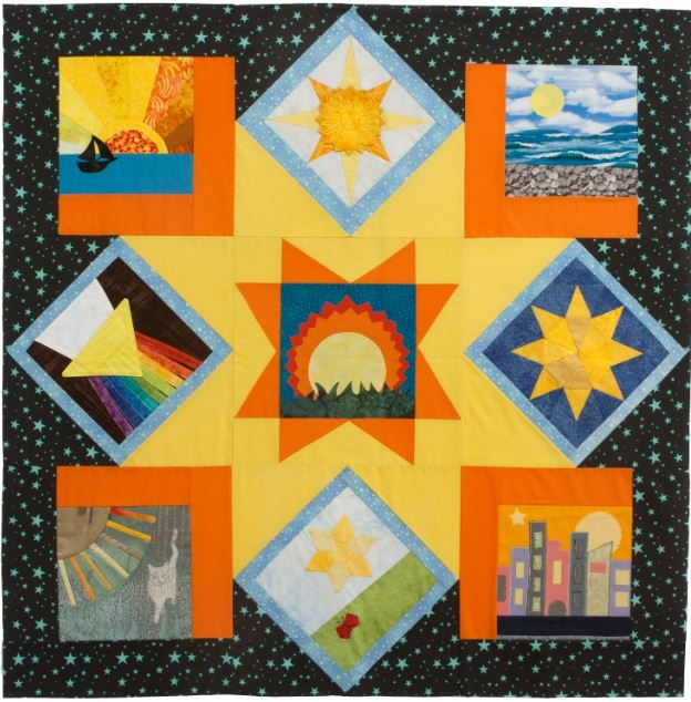 International Block Swap by Quilts Around The World – Quilting On ... : quilts usa - Adamdwight.com